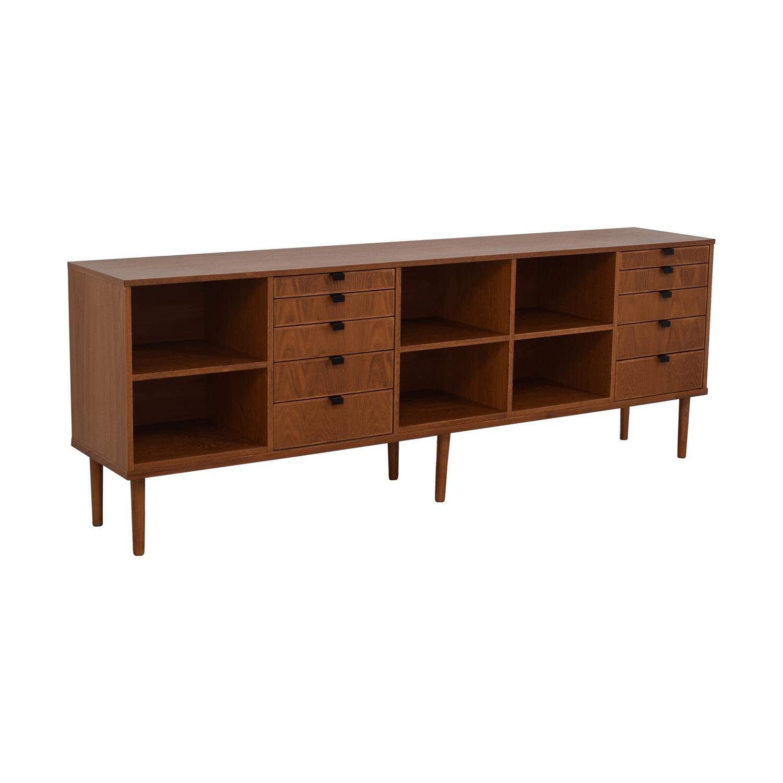 Custom Wood Ten-Drawer Credenza or Dresser / Cabinets & Sideboards