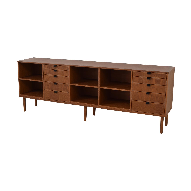 Custom Wood Ten-Drawer Credenza or Dresser price