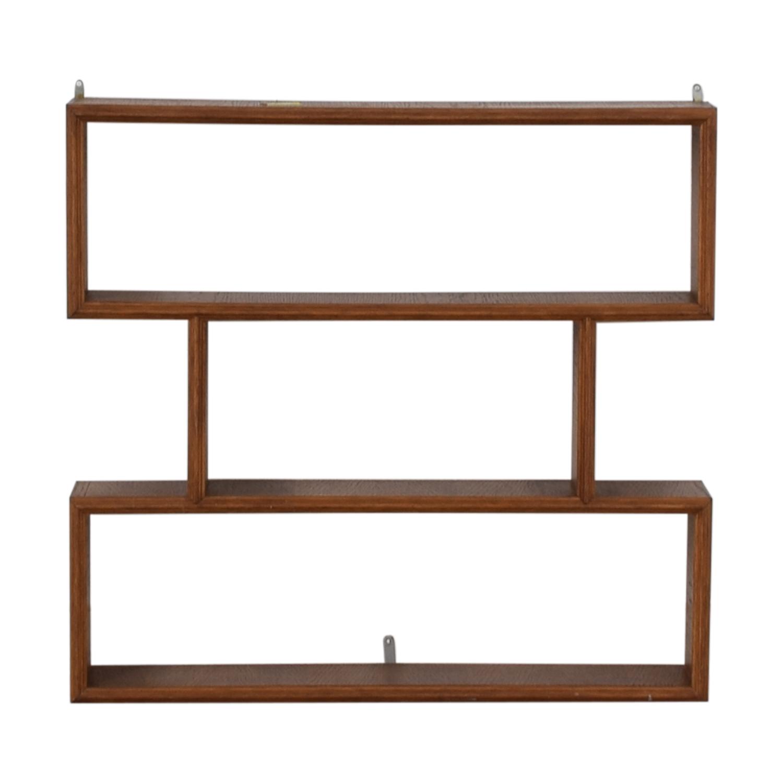 Custom Made French Made Mid Century Wall Shelf discount