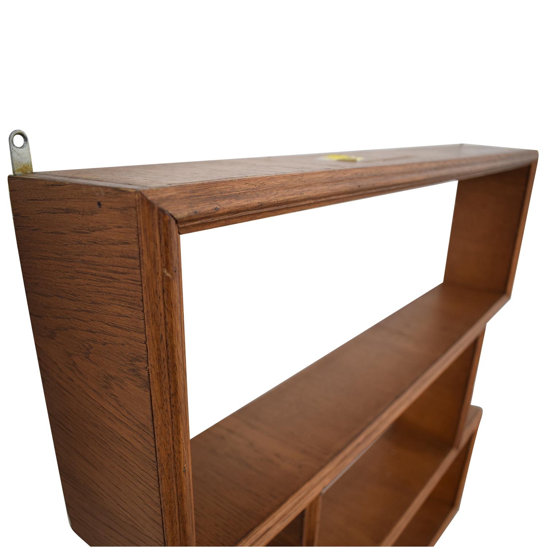 Custom Made French Made Mid Century Wall Shelf nyc