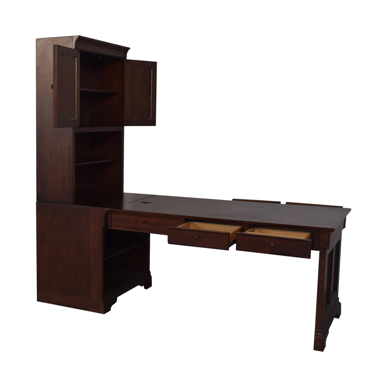 shop aspenhome Desk with Hutch aspenhome