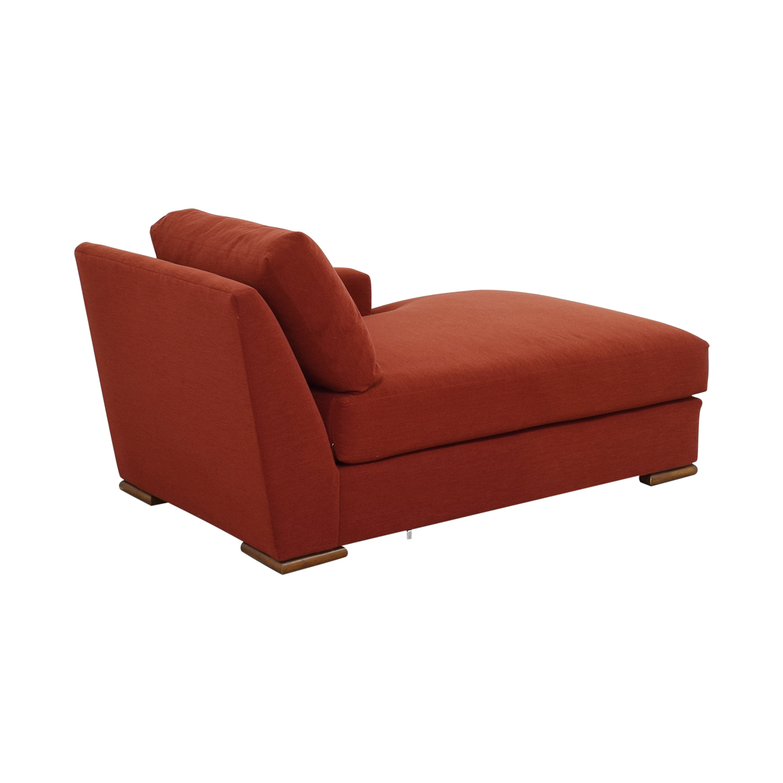 shop Kravet Orange Chaise Kravet Chaises