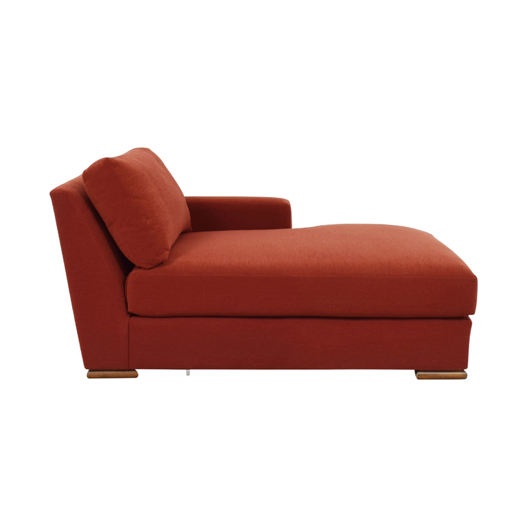 shop Kravet Orange Chaise Kravet
