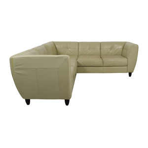 Raymour & Flanigan Raymour & Flanigan Five-Seater Sectional