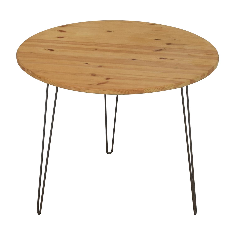 Round Custom Dining Table nyc