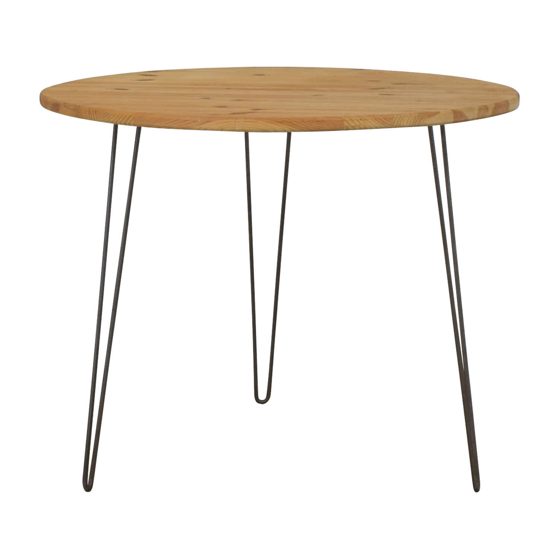 shop Round Custom Dining Table  Dinner Tables