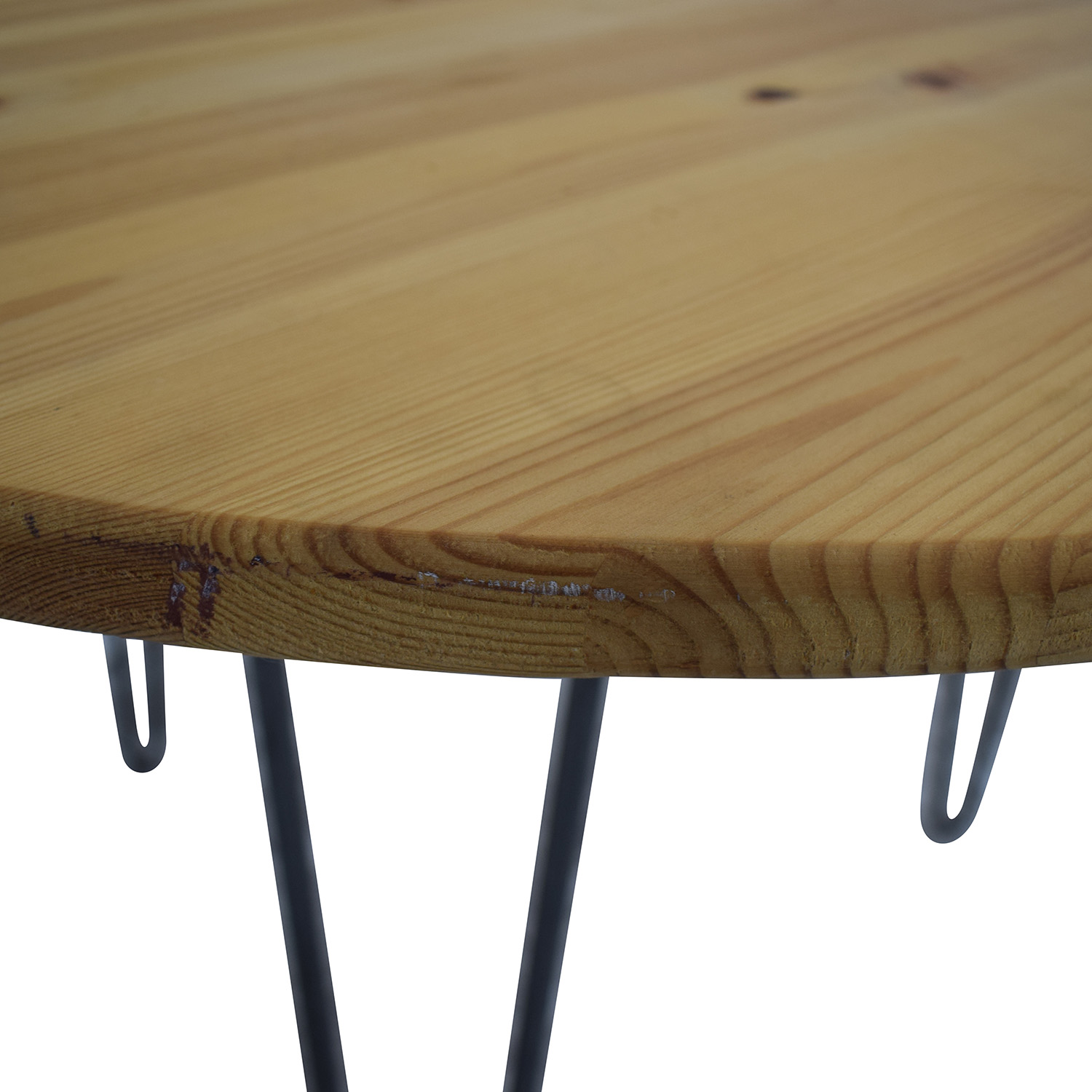 Round Custom Dining Table second hand