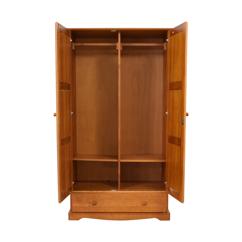 Single Drawer Wardrobe Armoire on sale