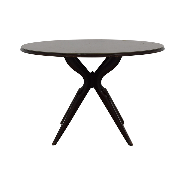Round Pedestal Table second hand