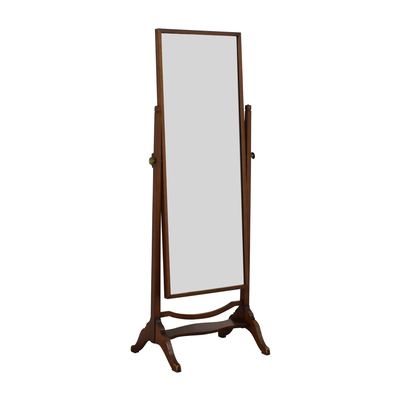 buy Cheval Wood Floor Mirror