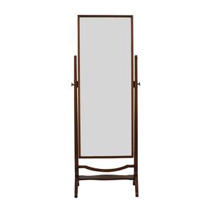 Cheval Wood Floor Mirror dimensions