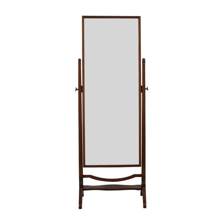 Cheval Wood Floor Mirror nyc