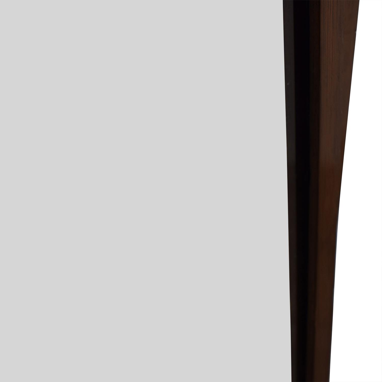Cheval Wood Floor Mirror used