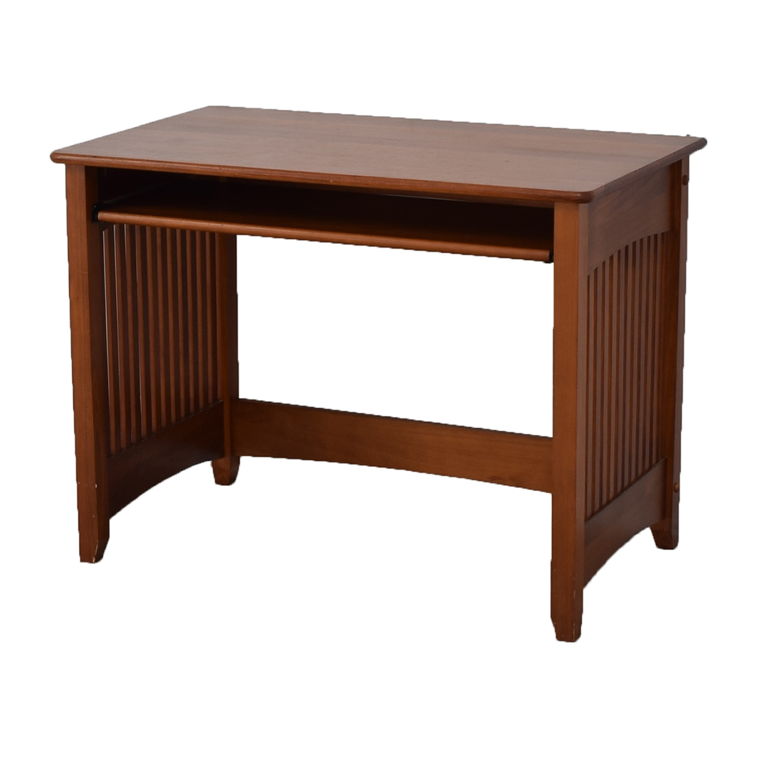 super popular 9ced9 c5f93 50% OFF - Wood Computer Desk with Key Board Tray / Tables