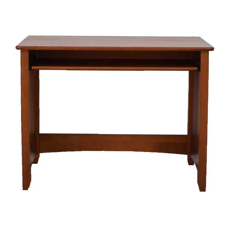Wood Computer Desk with Key Board Tray price