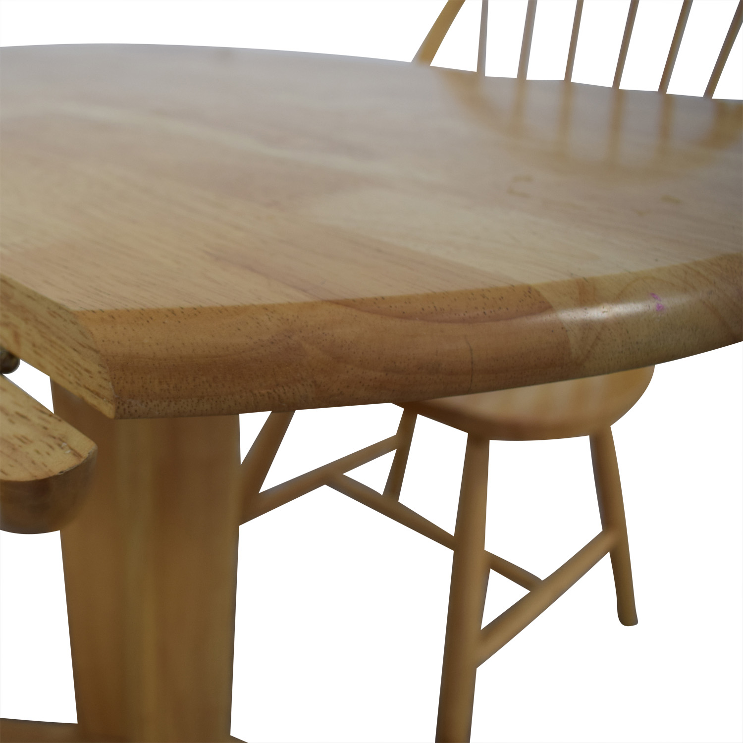 Coaster Coaster Round Natural Dining Set dimensions