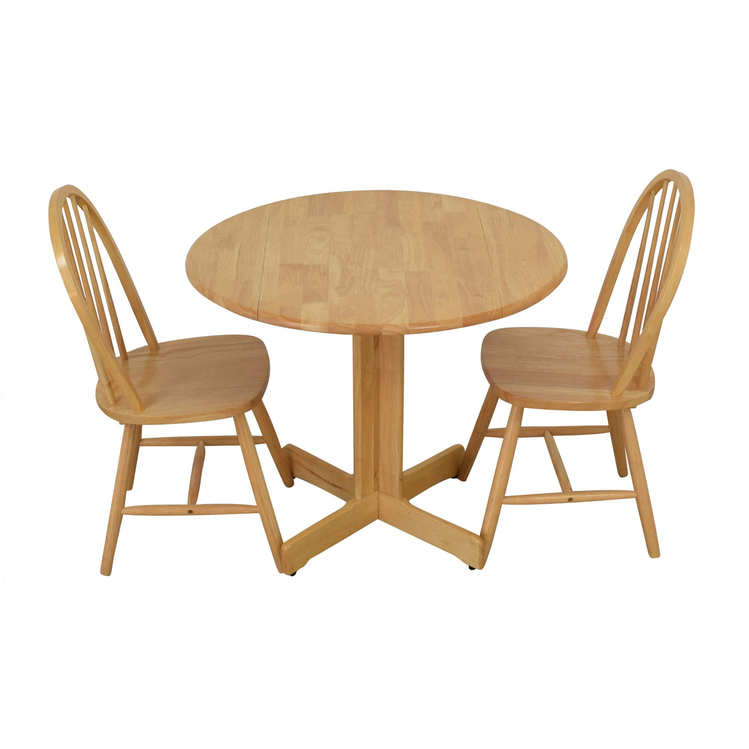 Coaster Coaster Round Natural Dining Set for sale