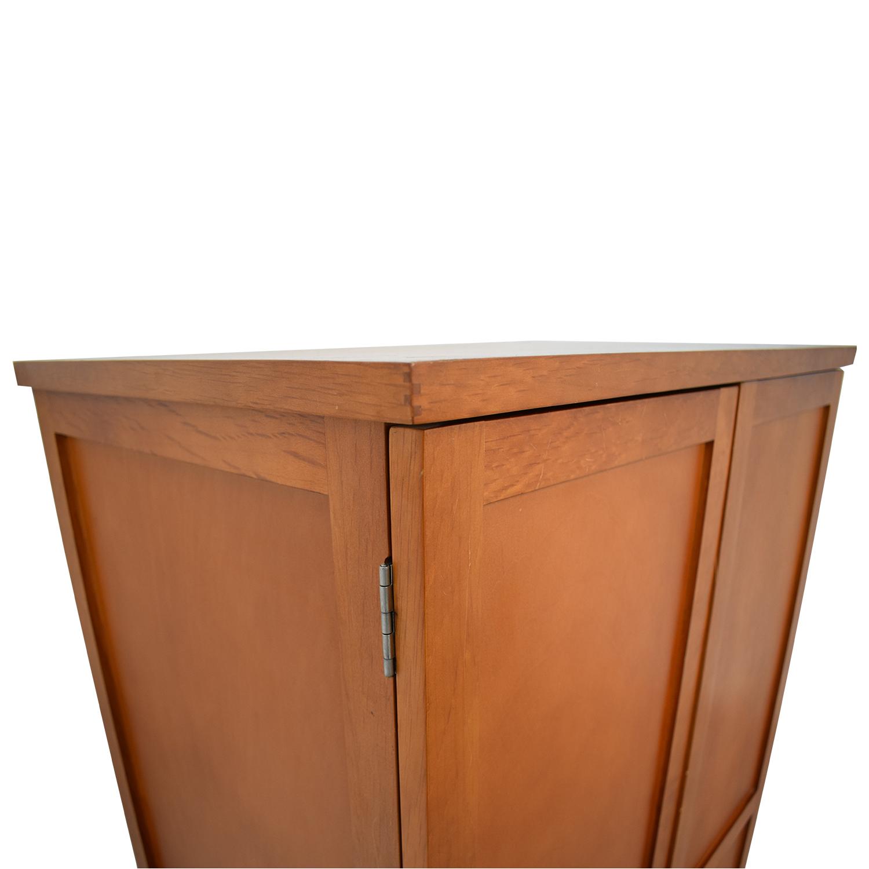 Wood Armoire Desk / Storage