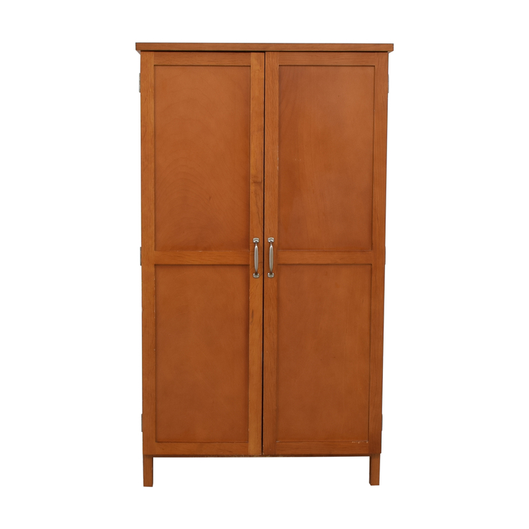 Wood Armoire Desk nj