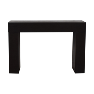 Pottery Barn Wood Console Table / Tables