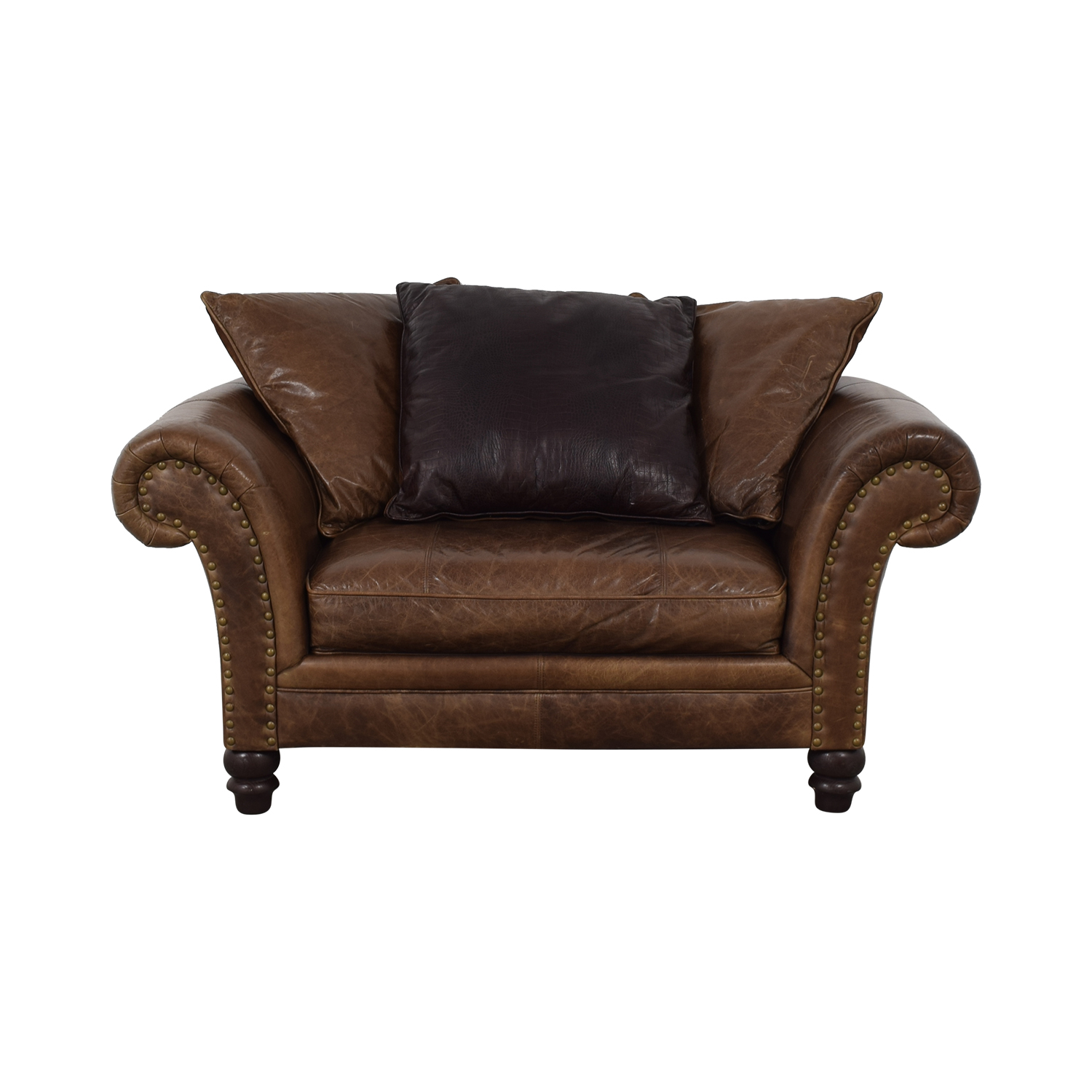 Bernhardt Brown Oversized Accent Chair / Accent Chairs