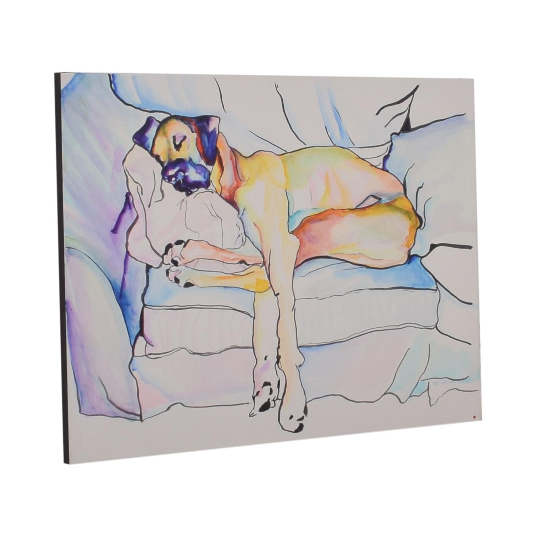 shop Pat Saunders-White Sleeping Beauty Wall Art