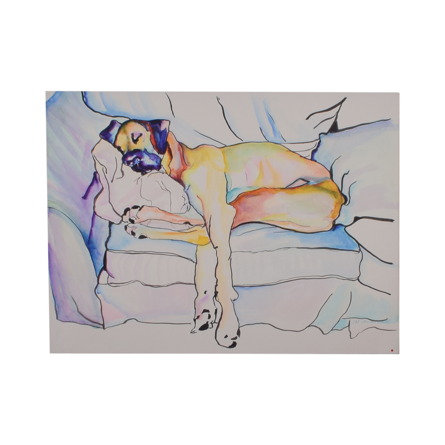 Pat Saunders-White Sleeping Beauty Wall Art