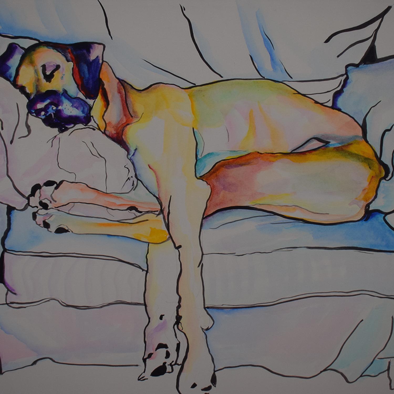 buy Pat Saunders-White Sleeping Beauty Wall Art