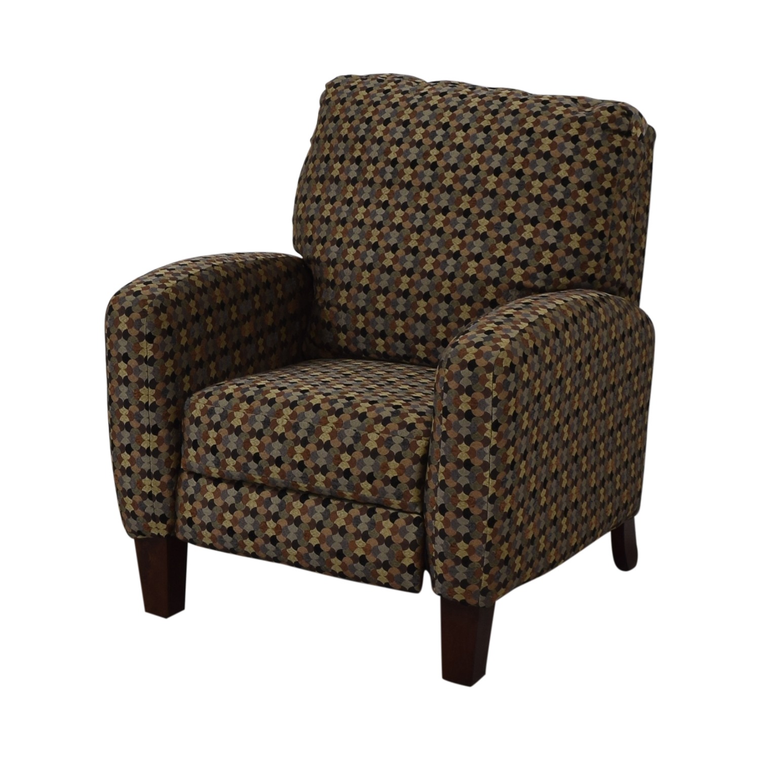 Southern Motion Kelley Tango Teal Multi-Colored Accent Recliner Chairs