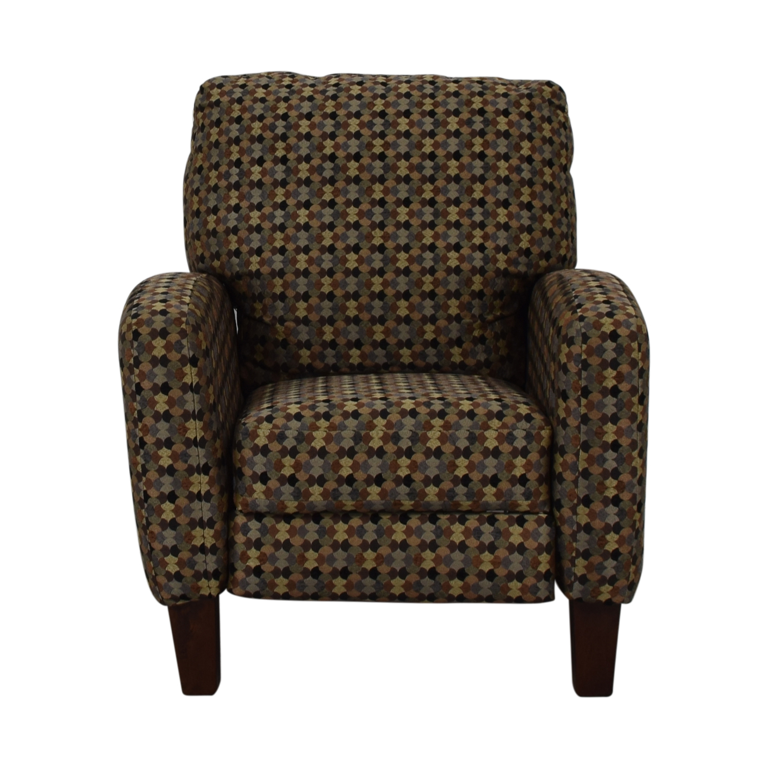 Southern Motion Kelley Tango Teal Multi-Colored Accent Recliner Tango Teal pattern