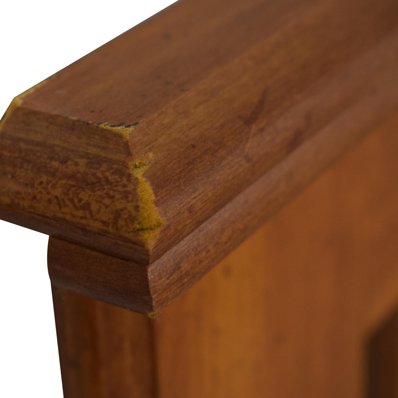 Standard Furniture Standard Furniture Spice Pine Wood Full Headboard discount