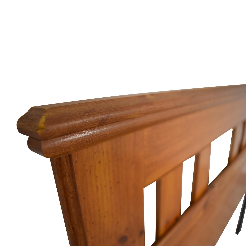 Standard Furniture Standard Furniture Spice Pine Wood Full Headboard on sale