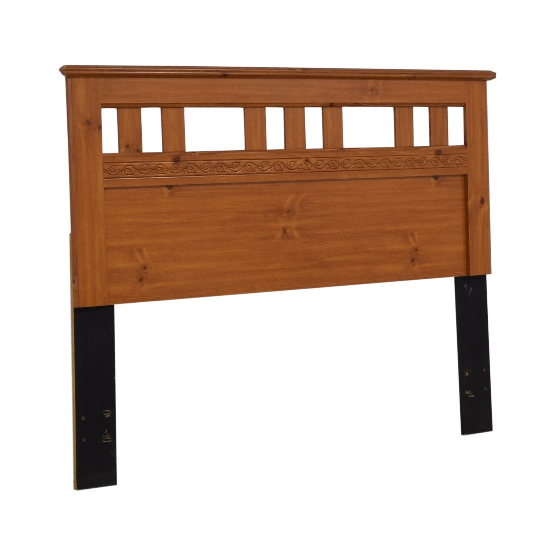 Standard Furniture Spice Pine Wood Full Headboard / Beds