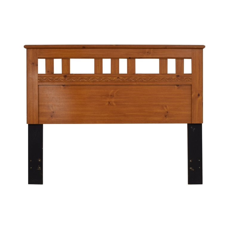 buy Standard Furniture Spice Pine Wood Full Headboard  Beds