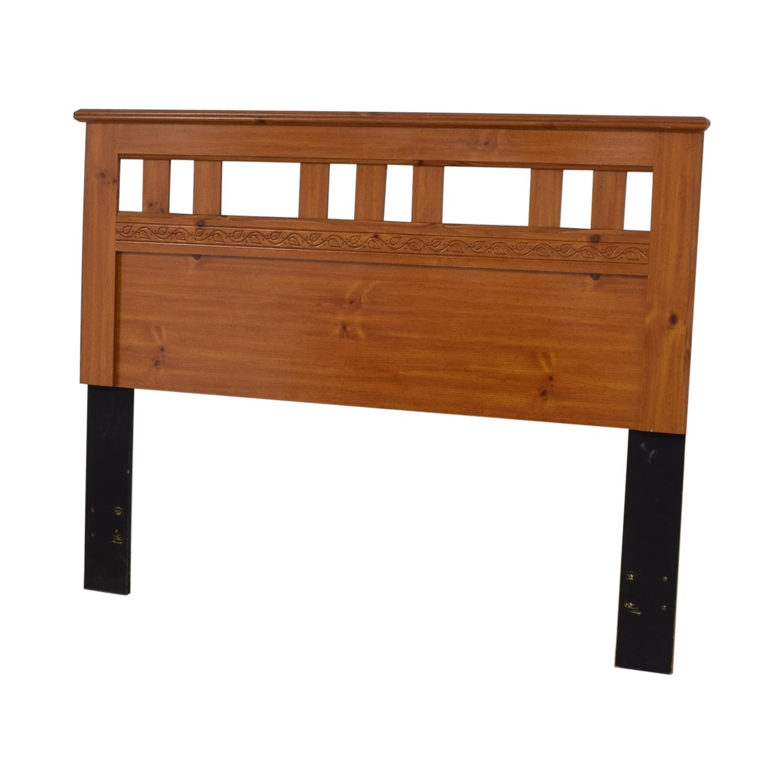 buy Standard Furniture Spice Pine Wood Full Headboard Standard Furniture