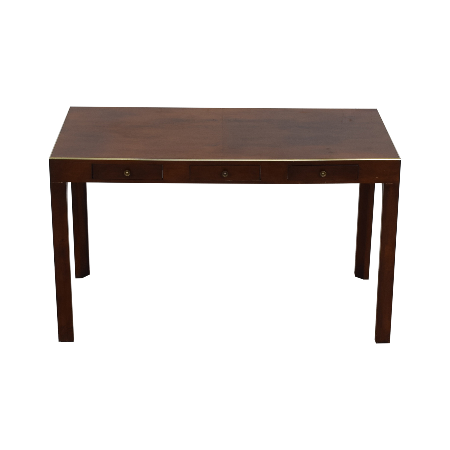 buy Holzheimers Holzheimers Three-Drawer Writing Table online