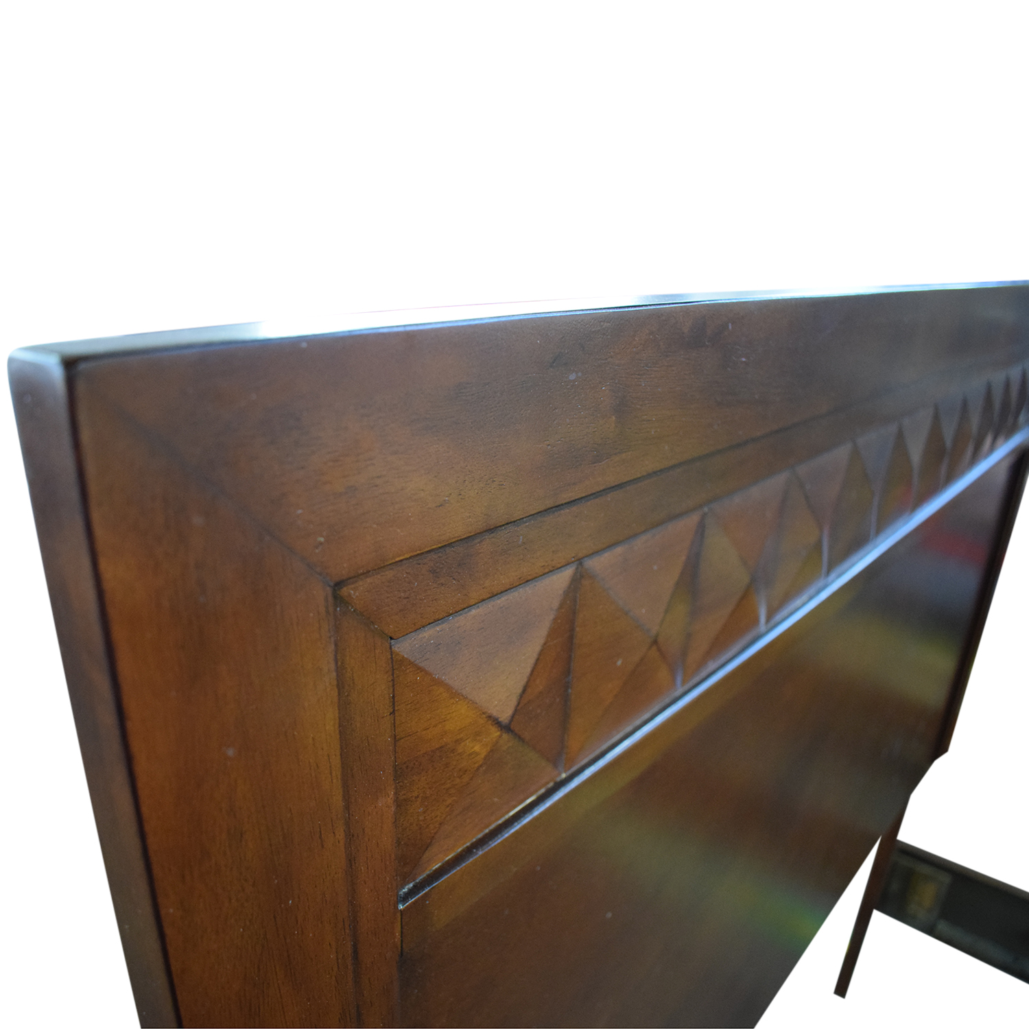 Wood Full Bed Frame second hand