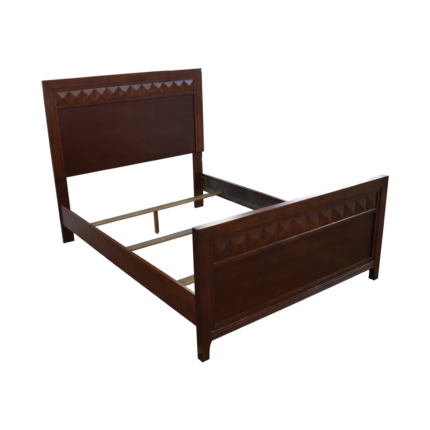 Wood Full Bed Frame coupon
