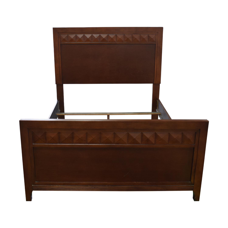 shop Wood Full Bed Frame