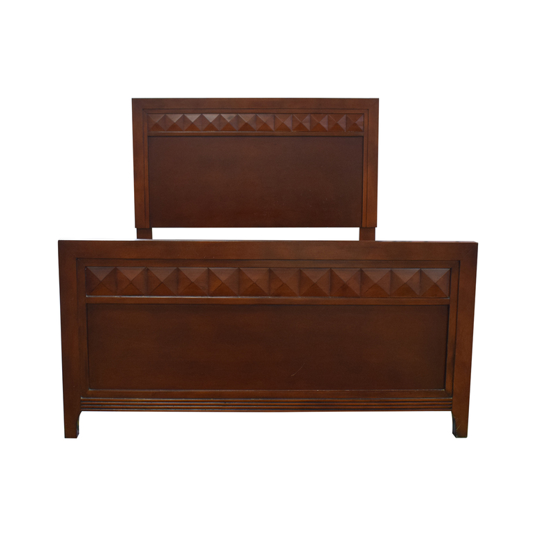 Wood Full Bed Frame discount