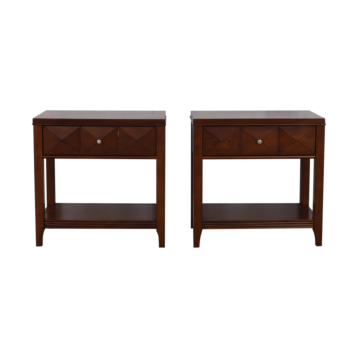 shop Wood Single-Drawer End Tables  End Tables
