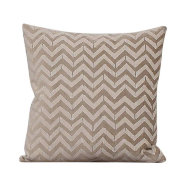 Room & Board Room & Board Herringbone Pillow nj