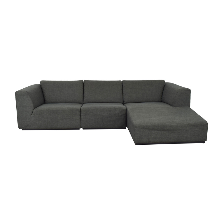 shop EQ3 EQ3 Morten Three-Piece Sectional Sofa with Chaise online