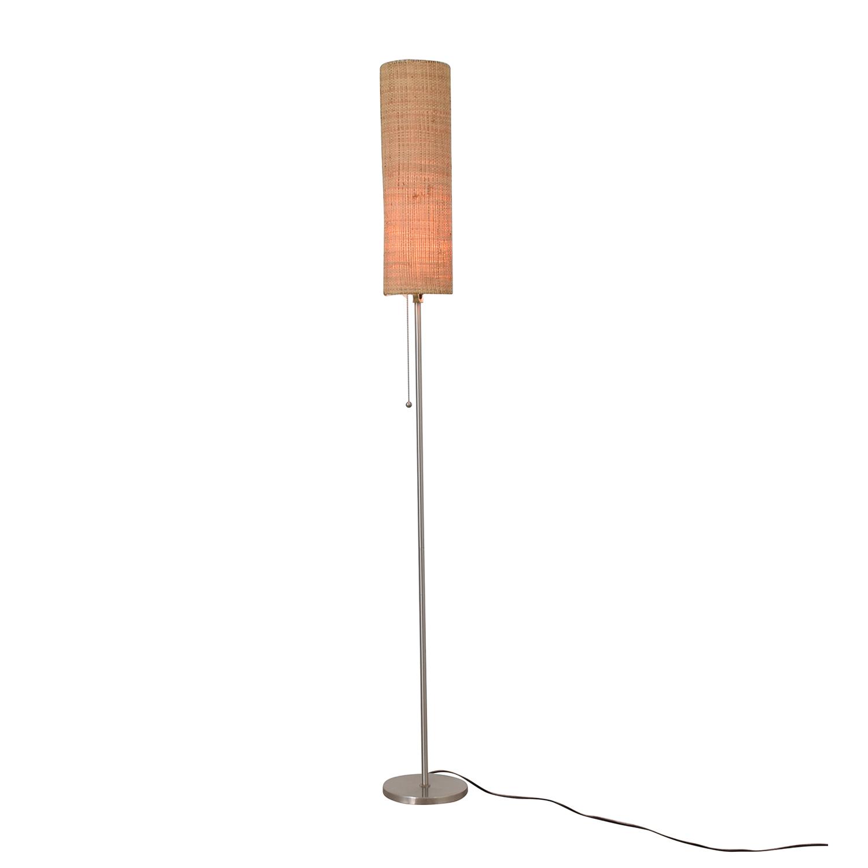 Fabric Floor Lamp on sale
