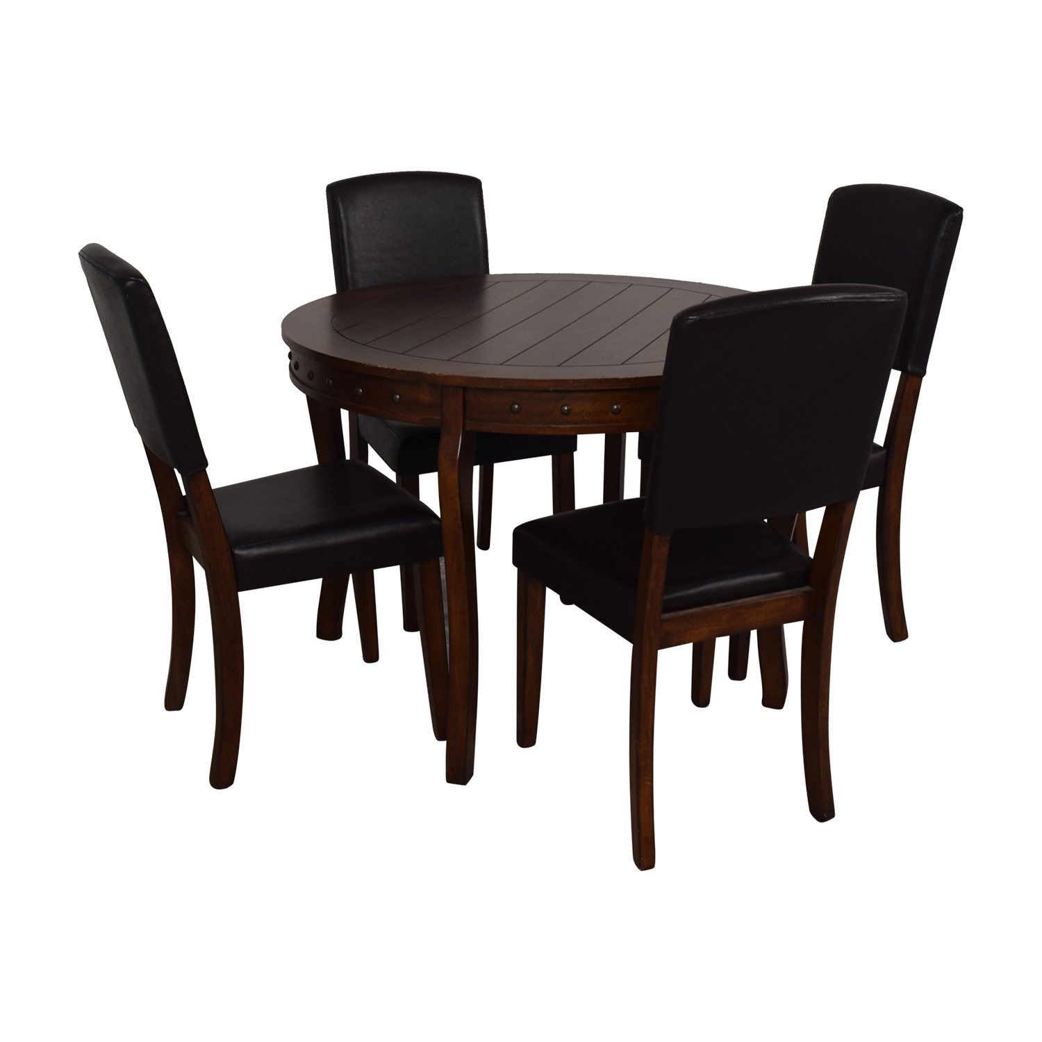 Ashley Furniture Ashley Furniture Round Dining Table with Chairs used