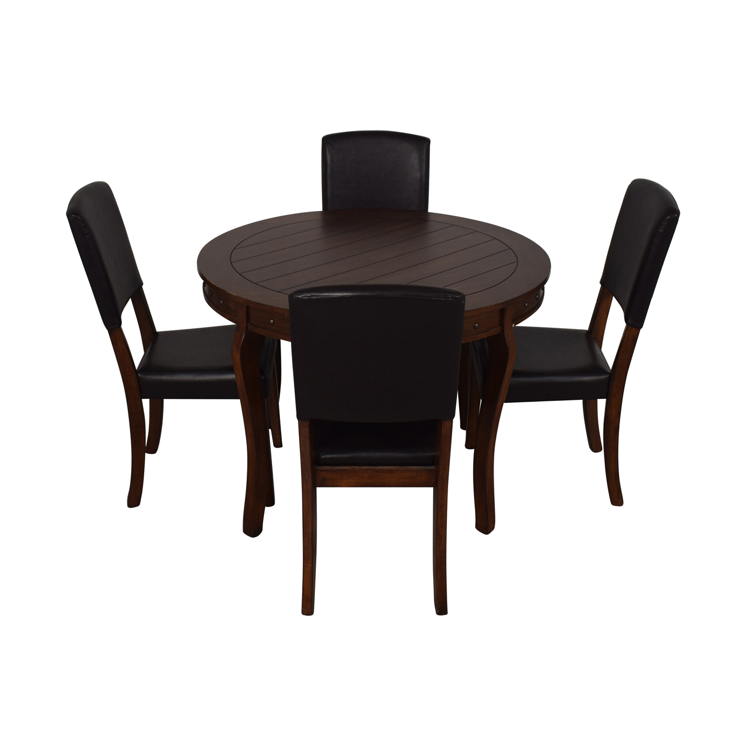Ashley Furniture Ashley Furniture Round Dining Table with Chairs for sale