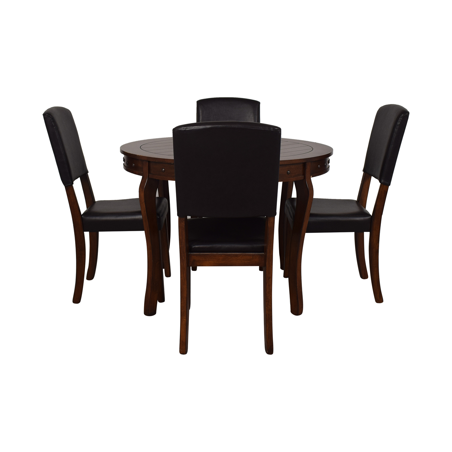 Ashley Furniture Ashley Furniture Round Dining Table with Chairs Tables