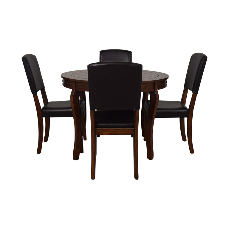 Ashley Furniture Ashley Furniture Round Dining Table with Chairs second hand