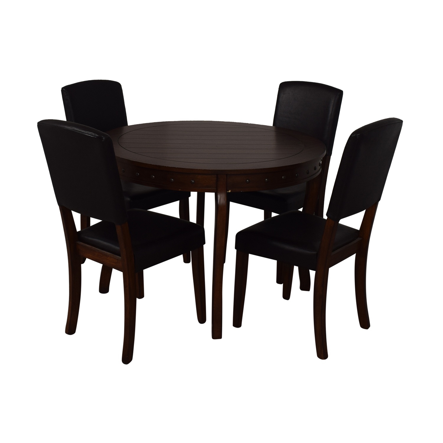 48 Off Ashley Furniture Ashley Furniture Round Dining Table With