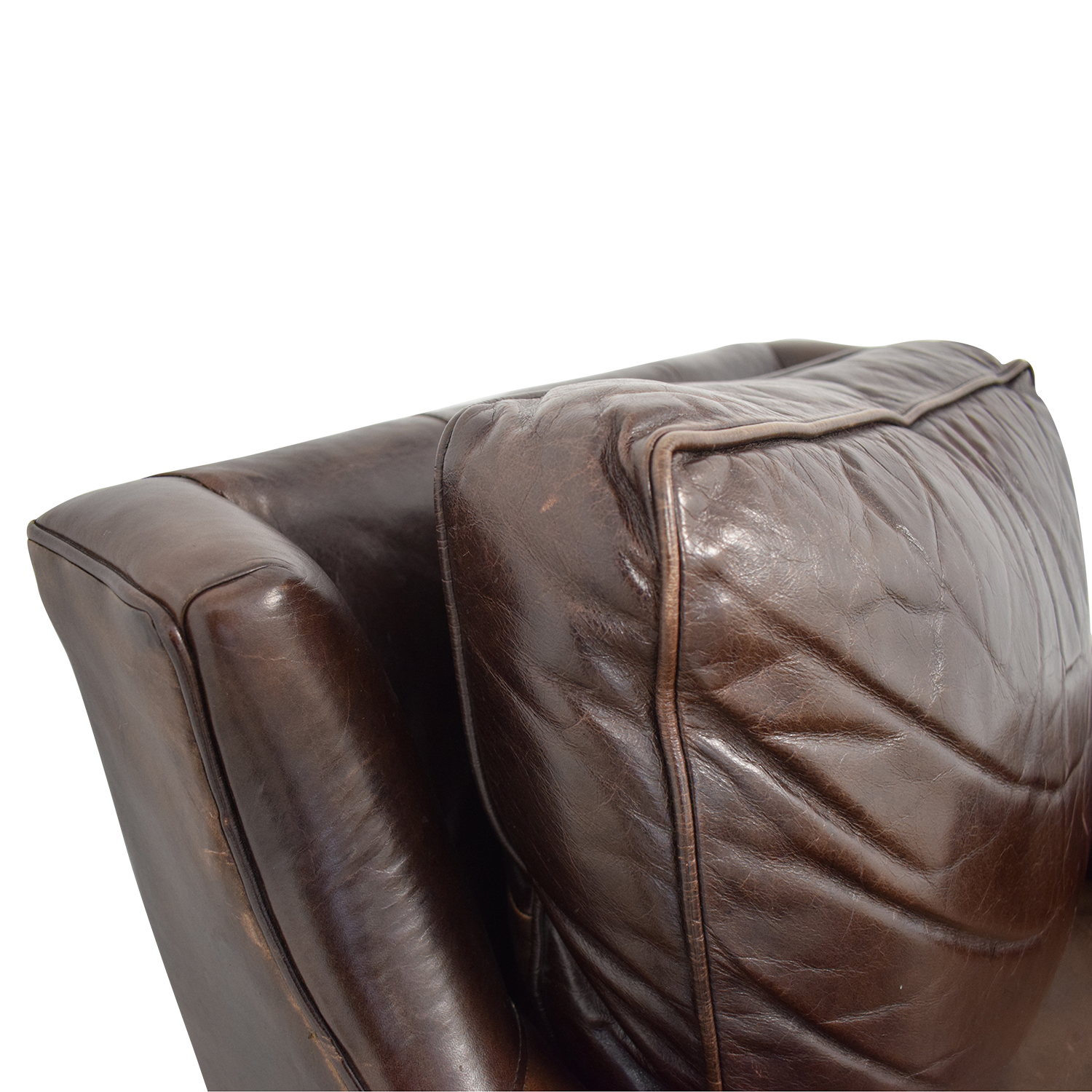 buy  Brown Accent Chair with Ottoman online